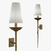 vaughan brantome wall light 3d model
