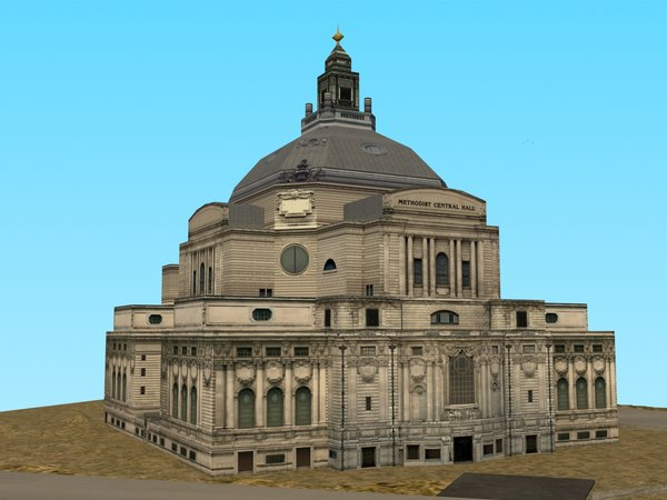 3ds max methodist central hall
