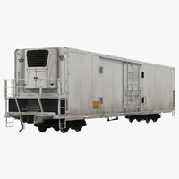 railroad refrigerator car generic obj