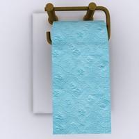 3d toilet tissue paper 02 model