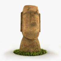 Moai 2 Textures