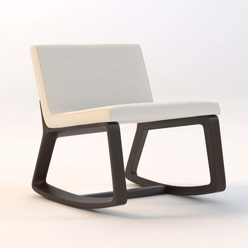 3dsmax remix rocking chair