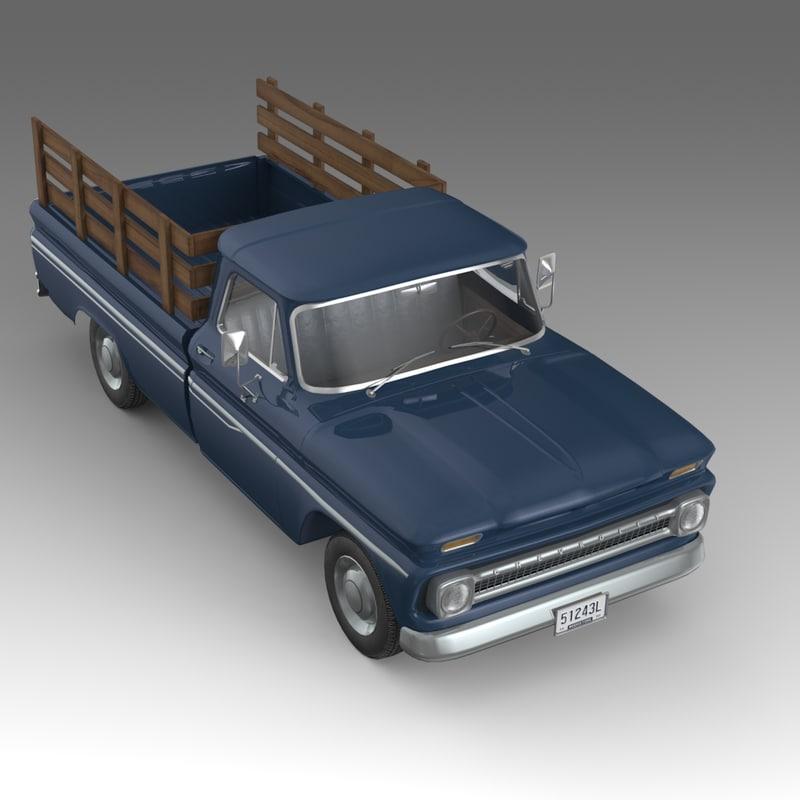 chevrolet car 3d model