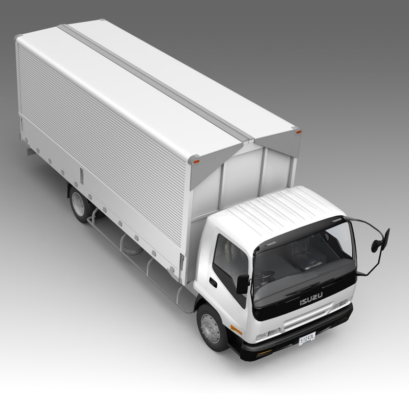 fbx truck cars