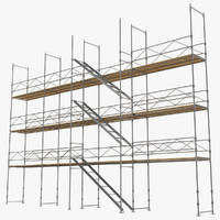 Pipe Staging Scaffold