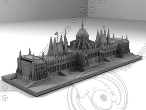 3d budapest architectural