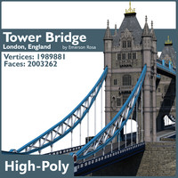 Highly Detailed Tower Bridge