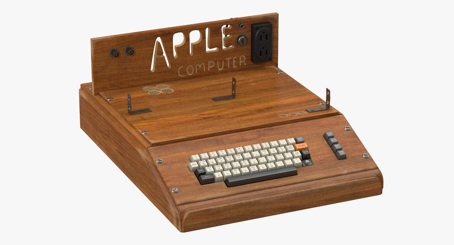 3d apple computer