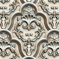 3ds max decor wall arabesque