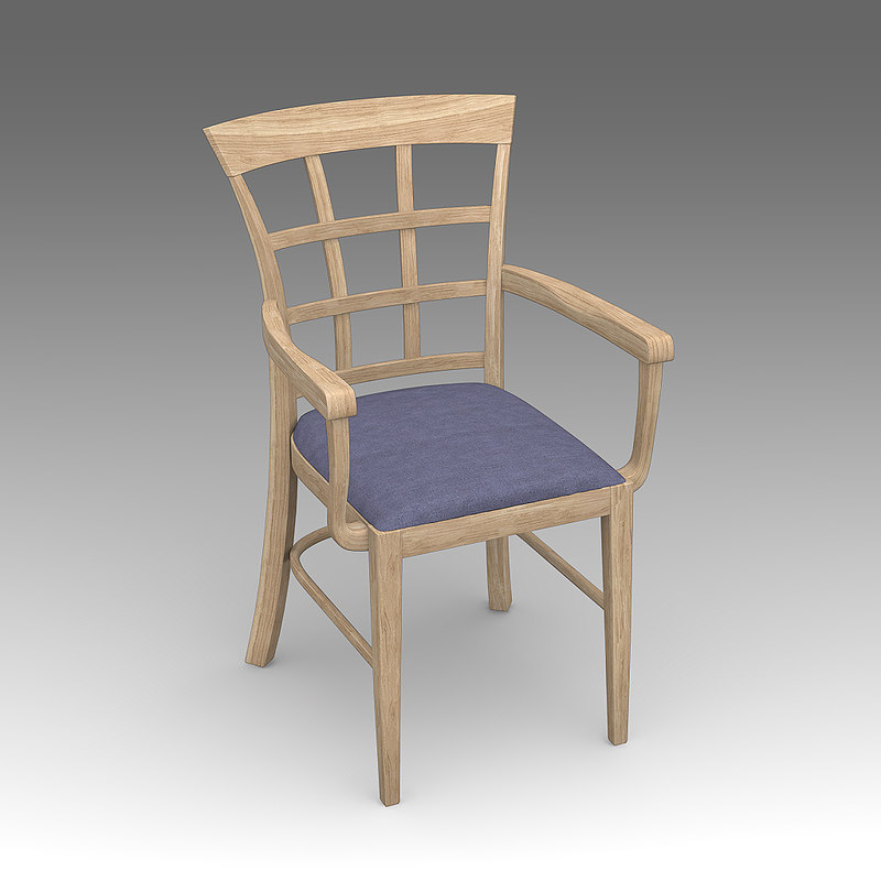 kitchen chair 3d model