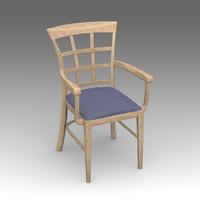 kitchen chair 3d model