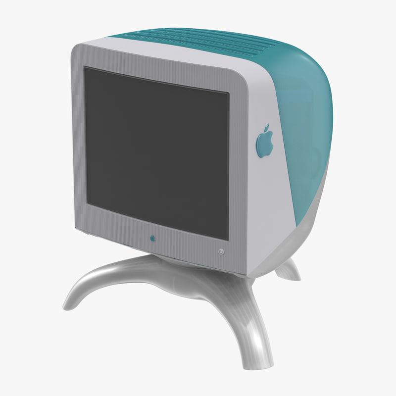 c4d apple studio display imac