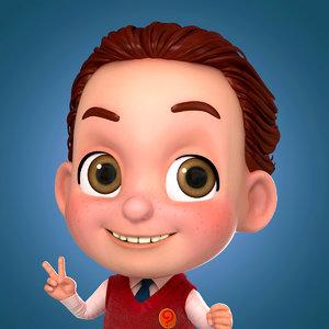 maya boy cartoon