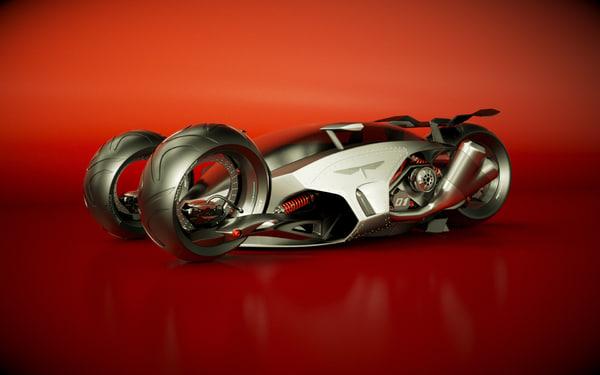 t designed 3d model