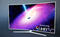 Samsung SUHD  Curved 4k Ultra HD LCD 65-inch TV