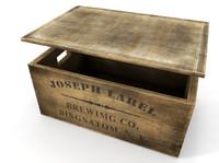 maya wooden beer crate