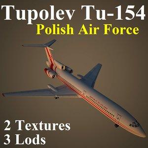 tupolev plf 3d model