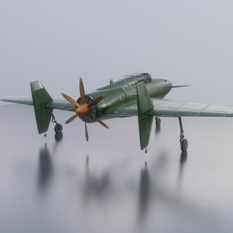3d airplane originally engines model