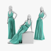 dress mannequin christian 3d model
