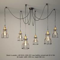 Chandelier Lussole Loft LSP-9310
