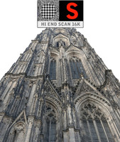 3d gothic architecture cathedral scanned
