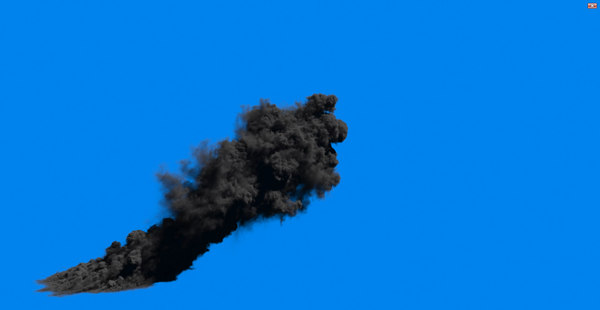 large scale smoke fx 3d max