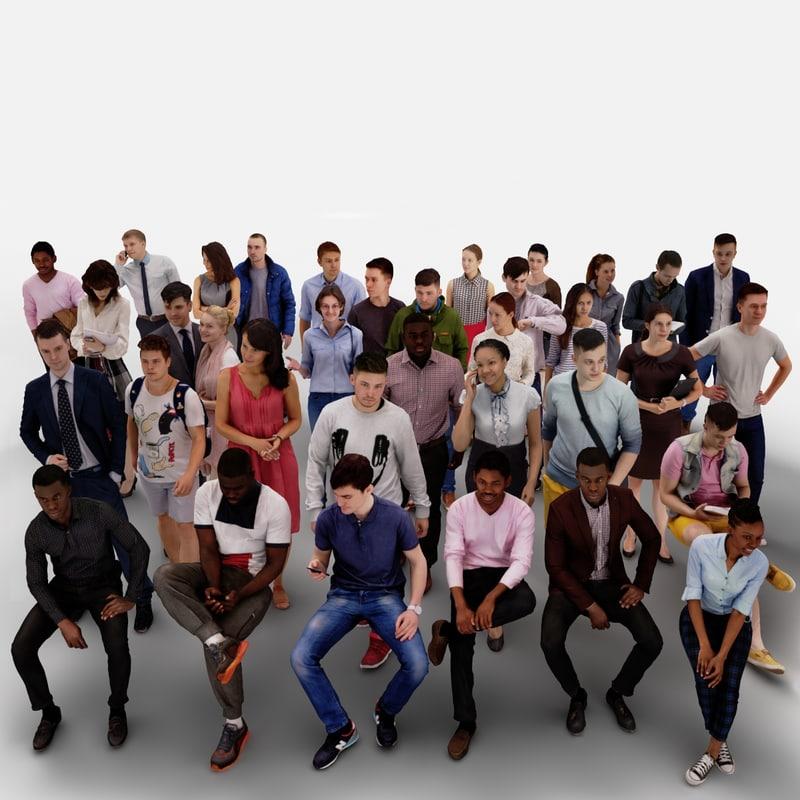 human people 40x 2 max