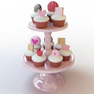 3ds max cupcake 48
