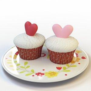 cupcake 49 3d model