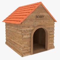 3d dog house