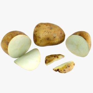obj potato food
