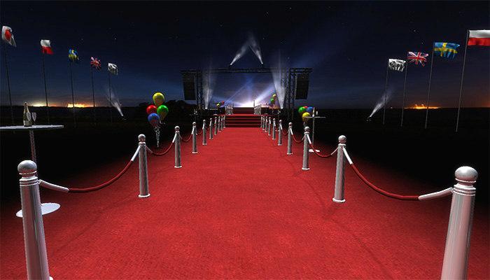 3dsmax vip red carpet pack