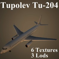 max tupolev low-poly airliner