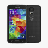 3d samsung galaxy s5 black