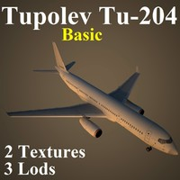 3d model tupolev basic