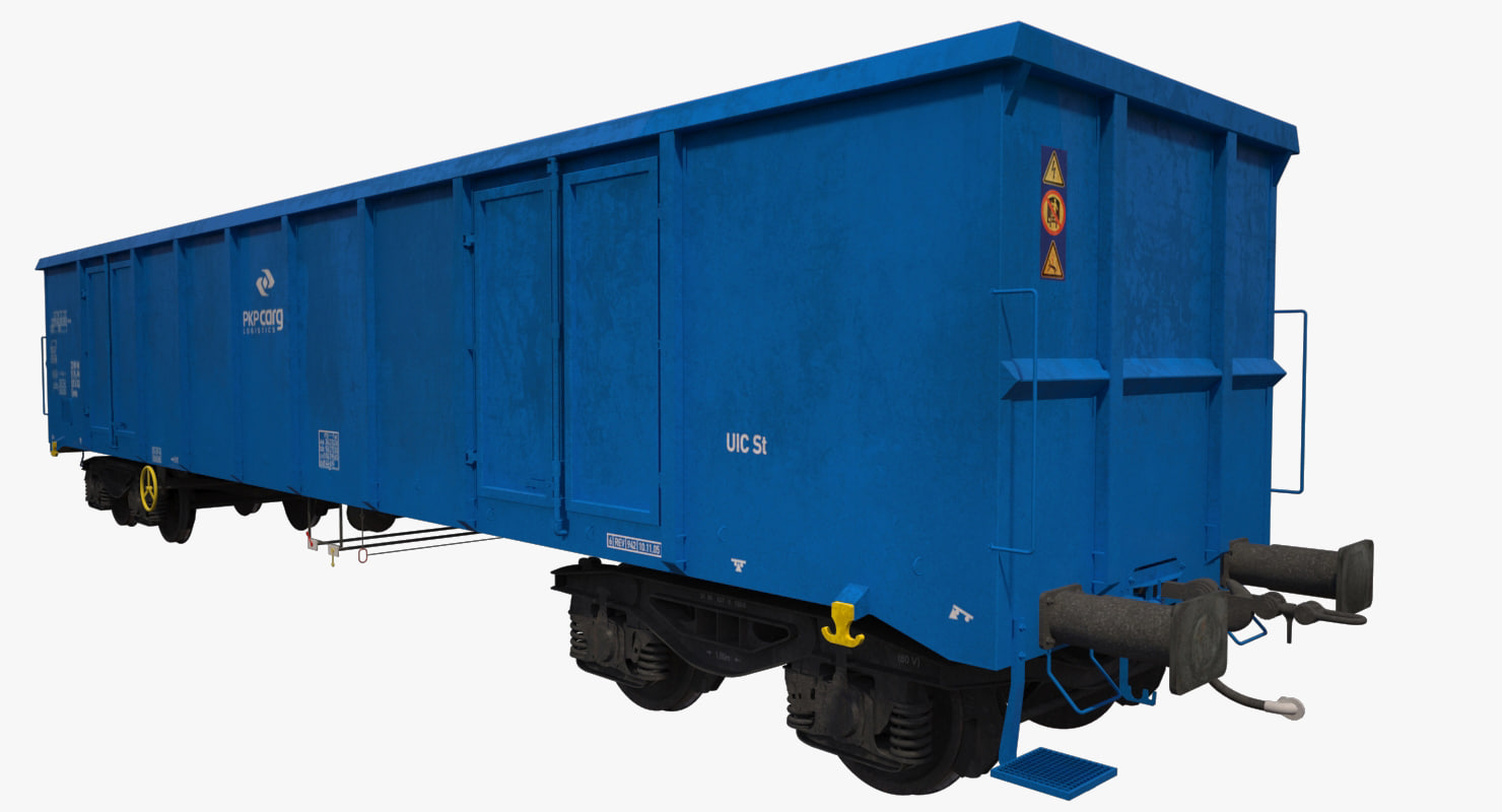 open-top box railcar eanos max