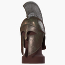 greek helmet 3D models