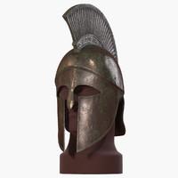 Spartan Helmet (V-Ray)