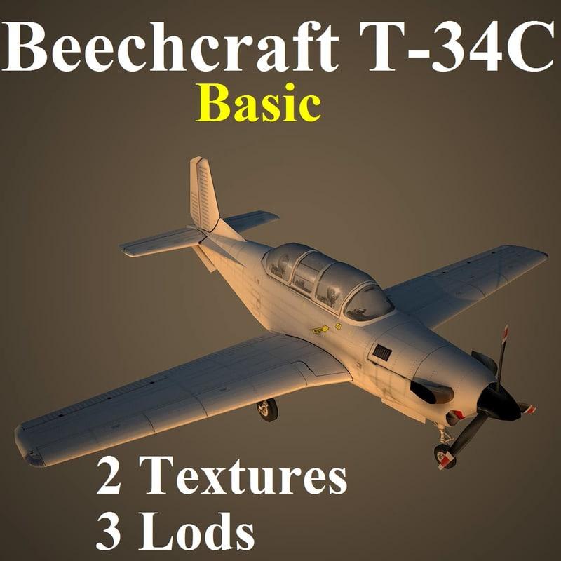 3d beechcraft basic