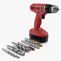 Cordless Drill with Drill Bits