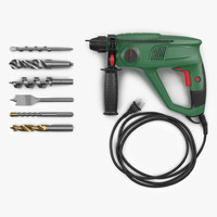 Pneumatic Hammer with Drill Bits