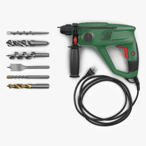pneumatic hammer drill bits obj