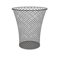 3d container basket wastebasket waste