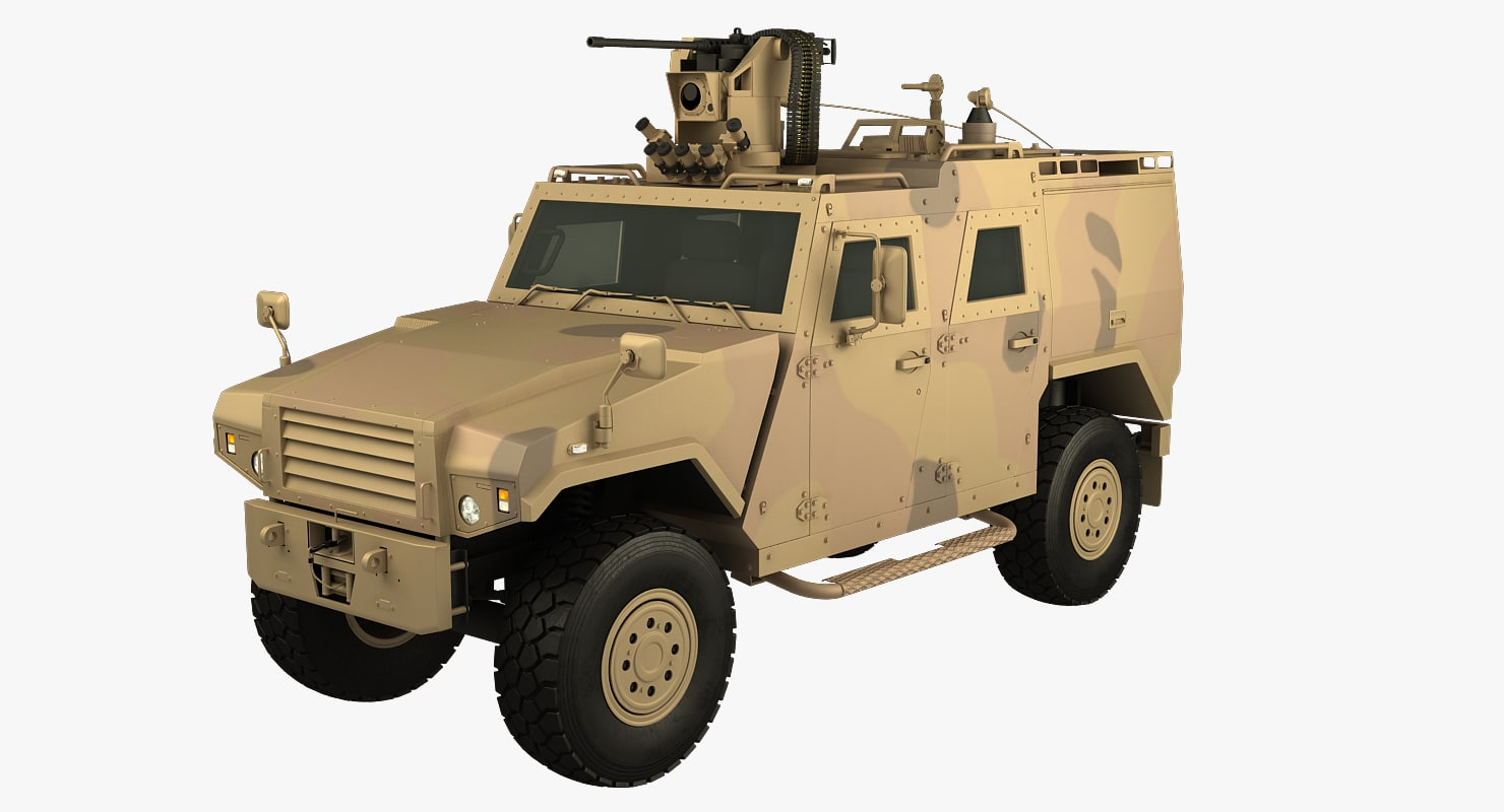 3d mowag eagle iv model