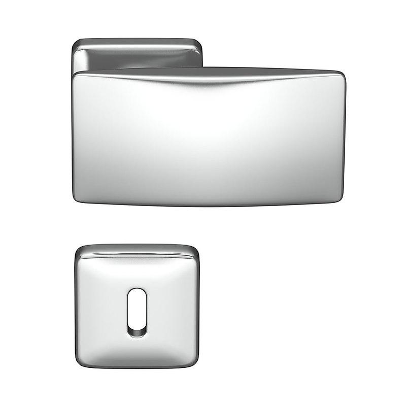 3d model doorhandle door