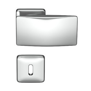 3d model doorhandle door