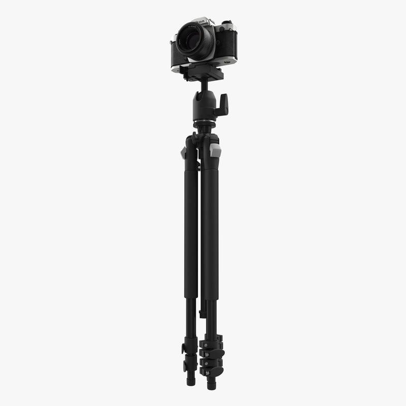 35 mm film camera 3d max
