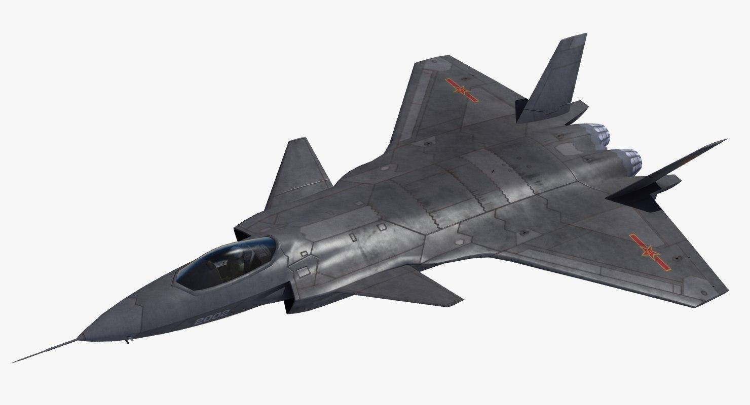 j-20 black eagle stealth fighter 3ds