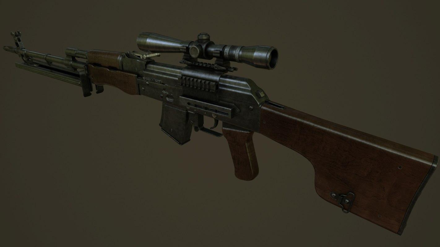 vepr-3v vpo-134 3d max