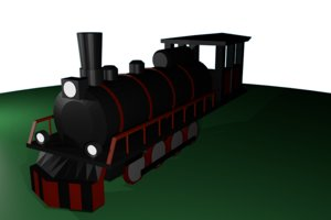 free old times 3d model